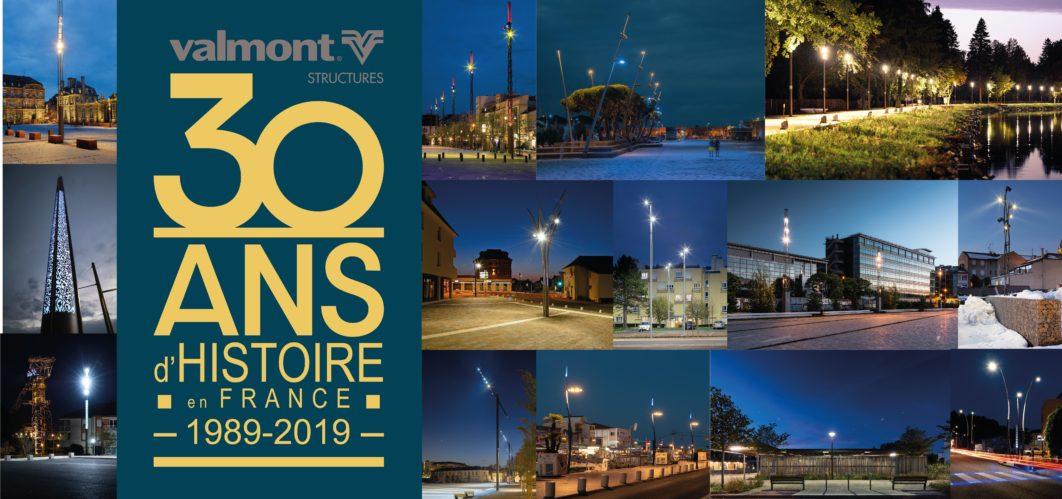 VALMONT - 30 ans d'histoire en France